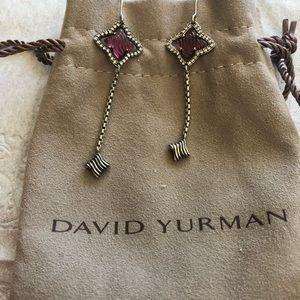 Authentic David Yurman drop earrings